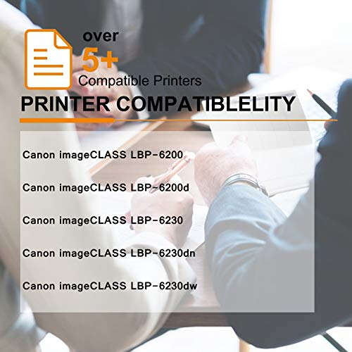 GREENCYCLE Compatible Toner Cartridge Replacement for Canon 126 CRG-126 CRG126 3483B001 for use in ImageClass LBP6200d and LBP6230dw LBP-6230dn LBP-6230 Wireless Laser Printers (Black,2 PK) Photo #7