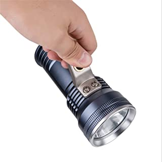Aluminum Alloy Rechargeable Strong Flashlight LED Long-Range Portable Mining lamp Waterproof Lighting Camping searchlight