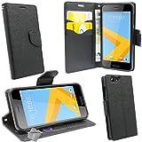 htdmobiles Housse Etui Coque Pochette Portefeuille pour HTC One A9S + Verre trempe -...