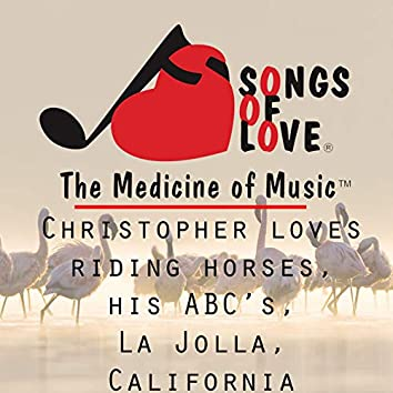 Christopher Loves Riding Horses, Doing His Abc's, La Jolla, California