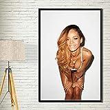 Ami0707 Art Decor Rihanna Popmusik Sängerin Superstar Hip