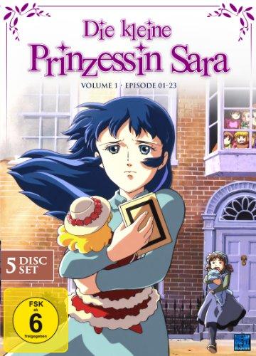 Die kleine Prinzessin Sara - Vol. 1, Episoden 01-23 (5 DVDs)