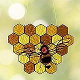 Bedspread Adornos de jardín de abejorros, Adornos de Colmena Adornos de Abejas Manualidades decoración de jardín para Spring-A
