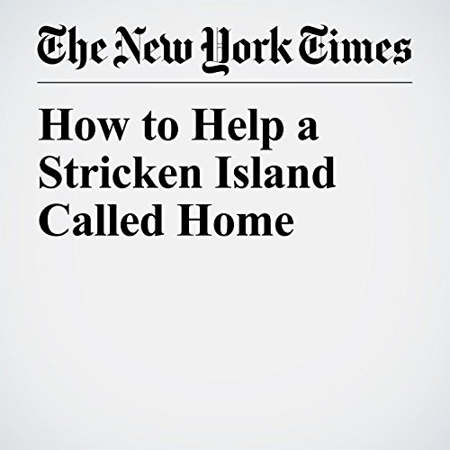 How to Help a Stricken Island Called Home copertina