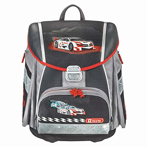 Step by Step Satchel-Set (set of 5) Touch Racer Nero|multicolore