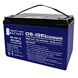 Mighty Max Battery 12V 100AH Gel Battery Replaces Solar Wind Deep Cycle VRLA 12V 24V 48V Brand Product