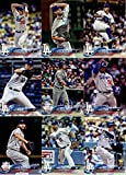 Los Angeles Dodgers 2018 Topps Complete Mint Hand Collated 32 Card Team Set with Clayton Kershaw, Cody Bellinger and a Walker Buehler Rookie Card plus. rookie card picture