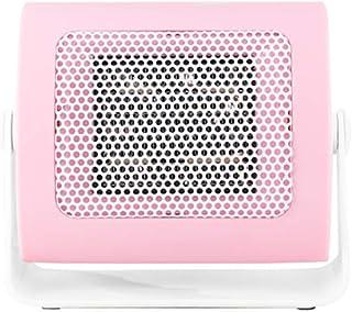 SAKURAM Mini Calefactor Cerámico Calentador de Espacio Eléctrico Portátil Personal para Cuarto Baño Oficina-Rosado