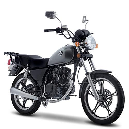 Motocicleta Italika de Chopper- Modelo RC 125 Gris
