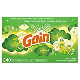 Gain - Original - Toallitas para secadora, 240 unidades (el embalaje puede variar)