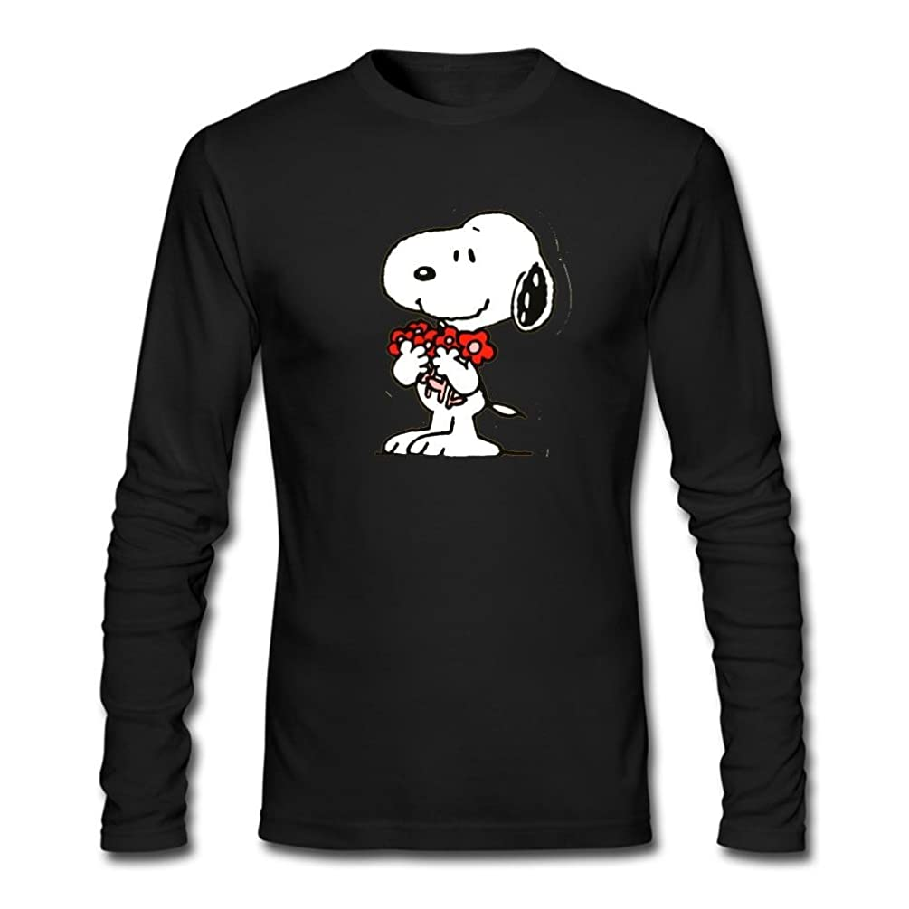 Cloud Space Men's Snoopy Long Sleeve T-Shirt