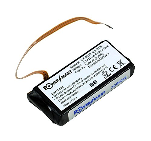 Power Smart® 3.7 V 700 mAh batería para Apple iPod classic, iPod Video Serien, 616 – 0232, 696 – 0106, B5LAA B6DAH