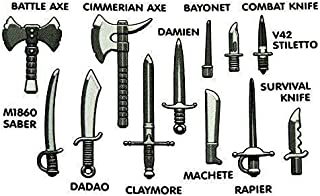 Amazon com: combat axe - Under $25 / Building Toys: Toys & Games