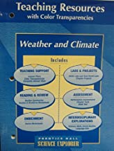 Weather and Climate, Science Explorer, Teaching Resources with Color Transparencies