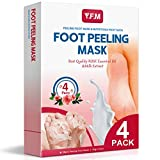 Foot Scrub Luckyfine Foot Care Exfoliating Gel, Soften Feet, Remove Foot Callus & Dead Skin Cleansing Moisturising for Thick Cracked Rough Dead Dry Heel Feet
