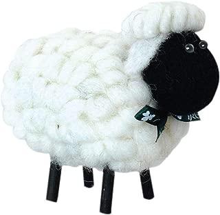 Shamrock Gift Co Irish Sheep Ornament (4 Colors) (Black Face)