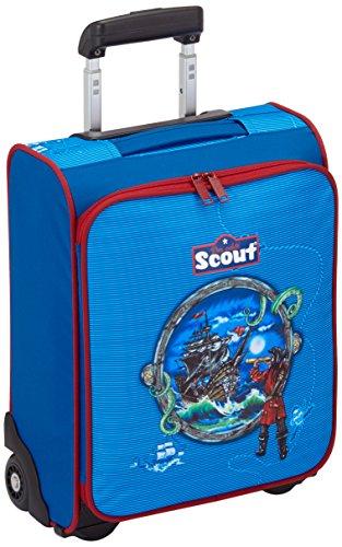 Scout Kindergepäck Kindertrolley Stormy Sea 21 Liters Blau 25510065700