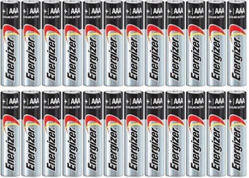 Energizer Max Alkaline AAA Batteries 4 Count $2.95