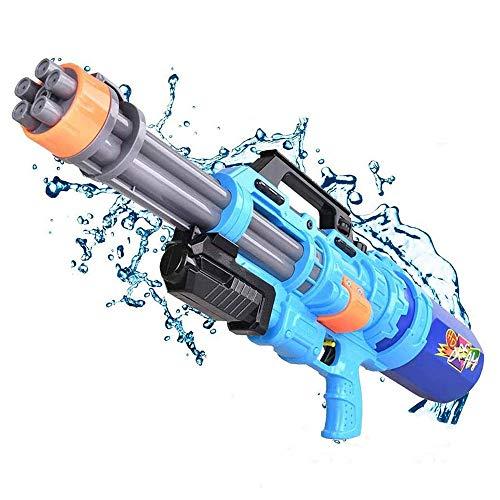 Pistola de agua, pistola de agua para niños y adultos, larga distancia, súper soaker, gran capacidad, 1500 cc, Squirt Gun 28ft Pistola de agua batalla de verano playa de piscina exterior juguetes