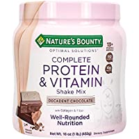 Nature's Bounty Complete Protein & Vitamin Shake Mix 1 Lb