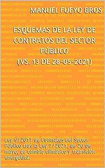 Esquemas de la Ley de Contratos del Sector Público (Vs. 13 de 28-05-2021): Ley 9/2017 de Contratos del Sector Público tras la Ley 7/2021  de 20 de mayo  de cambio climático y transición energética. PDF EPUB Gratis descargar completo