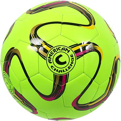 American Challenge Brasilia Soccer Ball (Lime, 2)