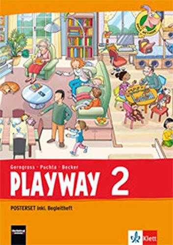 Playway 2. Ab Klasse 1. Ausgabe Hamburg, Rheinland-Pfalz, Baden-Württemberg: Posterset Klasse 2 (Playway. Für den Beginn ab Klasse 1. Ausgabe ab 2016)