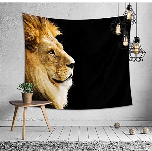 Mandala Tapisserie Tenture Murale Tapis Pour Salon Chambre Décor Home Décoration Polyester Tête De Lit Tapisserie Murale Tapis De Lion Tapis 200 * 150 Cm