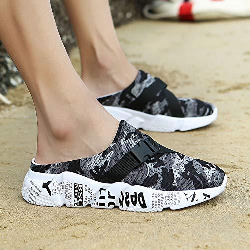Shukun mannen sandalen jongens sandalen zomer ademende sandalen en mannen dikke platform casual strand schoenen