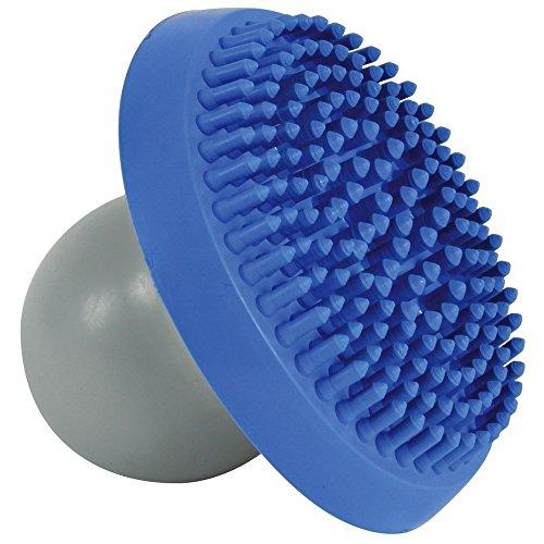 TRIXIE Shampoo- und Massagebürste für Hunde, blau/grau, 4Stück