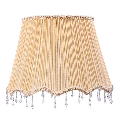 TRITTHOCKER Pantalla, lámpara de pie de Cama, lámpara de pie, lámpara de Mesa, Pantalla de Tela, Cubierta de Pantalla,30CM