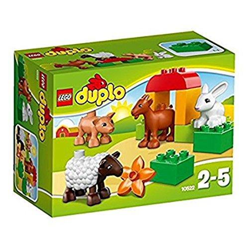 LEGO DUPLO LEGOville - 10522 - Jeu De Construction - Les Animaux De La Ferme (Age minimum : 2 ans)