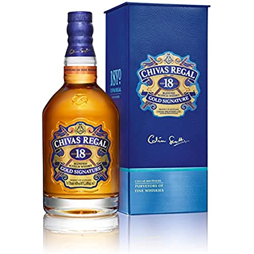 3. Whisky Chivas Regal 18 años
