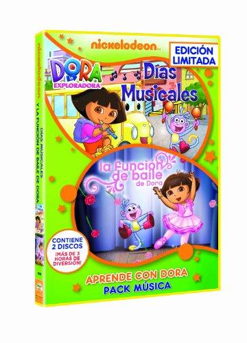 Pack Dora La Exploradora: Musica (Aventuras Musicales + La Lección De Baile D