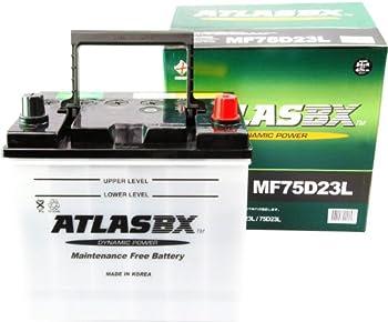 [ 5時間率容量 ]:48(Ah)●[ サイズ ]:総高さ220㎜ 箱高さ200㎜ 幅172㎜ 長さ230㎜ 液入り重量約15.9㎏●[ 適合バッテリー ]:55D23L/60D23L/65D23L/70D23L/75D23L