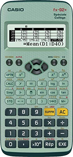 Casio FX-92+ Calculatrice scientifique Spéciale...