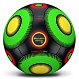 Millenti Soccer Ball Size 5 - Official Match Ball Quality - Thermal Bonded Construction - Knuckle-It Pro Soccer Balls