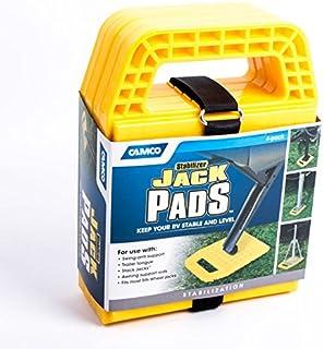Camco Stützplatten Set   4 Stück   zur Sicherung der Kurbelstütze Wohnmobil oder Wohnwagen