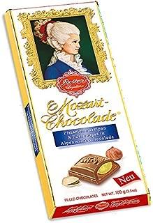 Reber Milk Chocolate with Hazelnut and Pistachio Marzipan (100g/3.5oz)