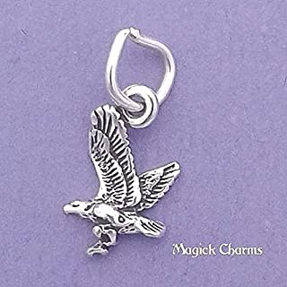 Best sterling silver eagle charm Reviews