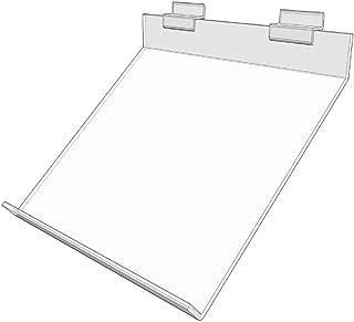 Slatwall Acrylic Slanted Shoe Shelf 10