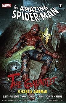 Spider-Man: The Gauntlet Vol. 1: Electro and Sandman by [Dan Slott, Mark Waid, Fred Van Lente, Adam Kubert, Barry Kitson, Paul Azaceta, Javier Pulido]