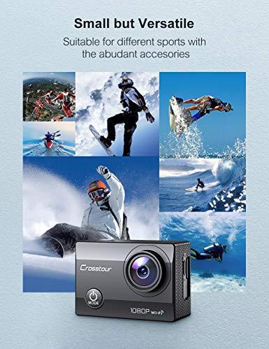 Crosstour Action Sport Cam WiFi 14MP Full HD Unterwasserkamera 2