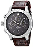 NIXON A3631887 - Reloj de Pulsera Hombre, Cuero, Color Marrón