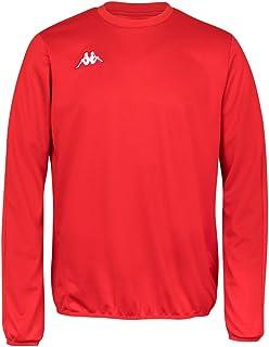 Kappa Men's Talsano Sweatshirt, red, 12Y