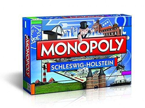 Winning Moves 41825 Monopoly-Schleswig-Holstein