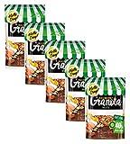 Granola Hello Day con nueces y granos sin conservantes y sin aceite de palma - 5 x 275 gramos