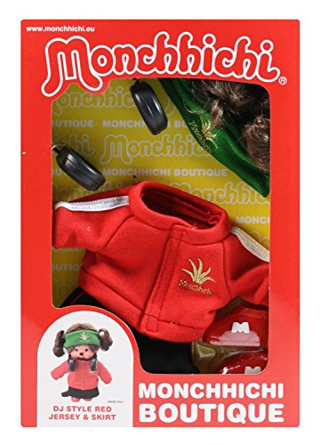 Sekiguchi 254760 - Monchhichi Boutique B3 DJ Outfit, rot