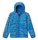 Columbia Jacket Pixel Grabber - Chaqueta reversible, Bright Indigo Hill Stripe, XL Unisex niños