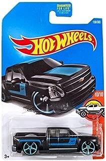 Hot Wheels 2017 HW Hot Trucks Chevy Silverado 159/365, Black